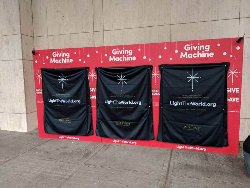 #LightTheWorld Giving Machines New York 2018 d