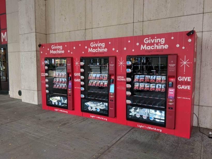 #LightTheWorld Giving Machines New York 2018 c
