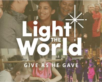 #LightTheWorld 2018 lds mormon service giving machines vending