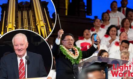Special #LightTheWorld Tongan Tabernacle Musical Broadcast — a must see!