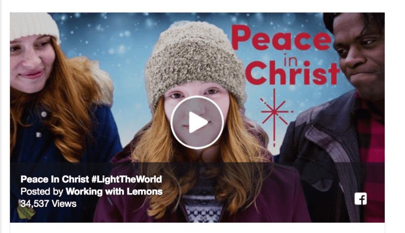 Peace in Christ Working with Lemons #LightTheWorld
