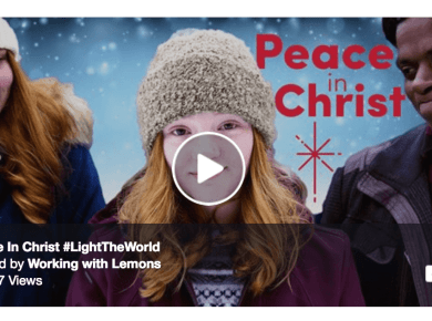 Peace in Christ Working with Lemons #LightTheWorld