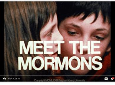 Watch the original (1973) Meet the Mormons!