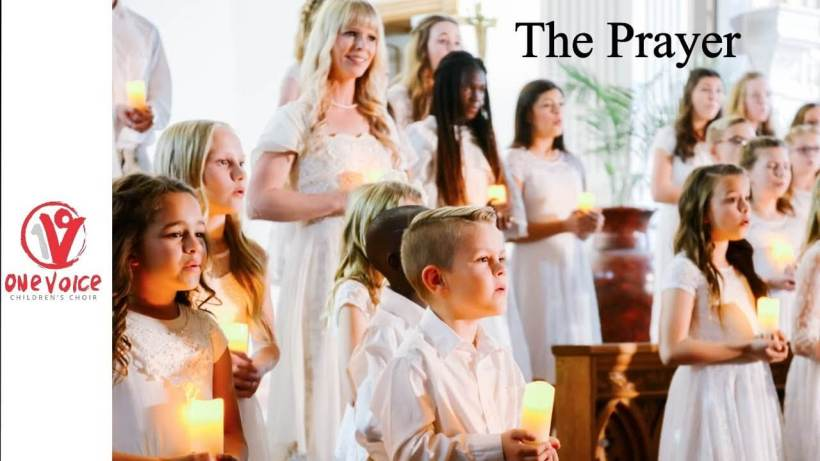 """""""The Prayer"""" - performed by Mindy Smoot Robbins, Dallyn Vail Bayles, and One Voice Children's Choir LDS Mormon"""