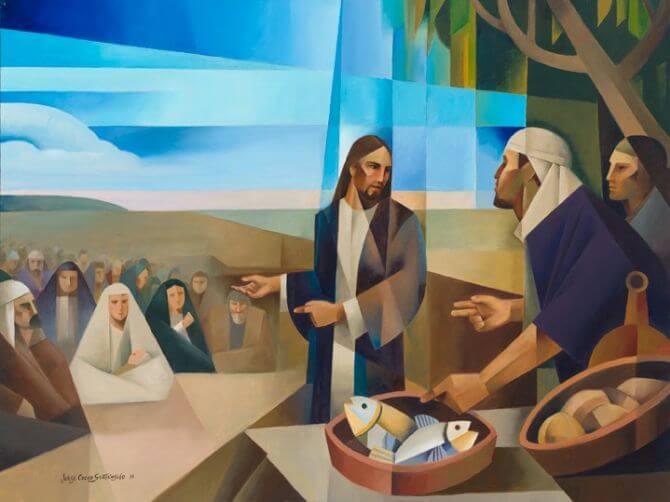 Come, Follow Me LDS Mormon Feed them – Jorge Cocco Santángelo Jorge Cocco Santangelo Matthew 14-15, Mark 6-7, John 5-6