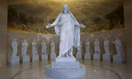 VIDEO: A quick history of the Christus statue and how it came to be in Salt Lake City and Rome (credit Deseret News)