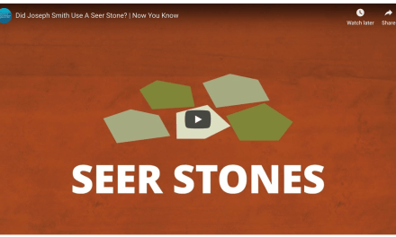 VIDEO: Did Joseph Smith Use A Seer Stone? Uncovering the truth about The Book of Mormon