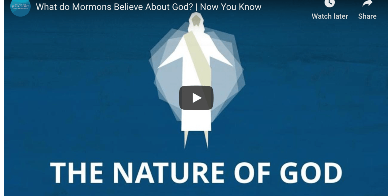 What do Mormons believe about God?
