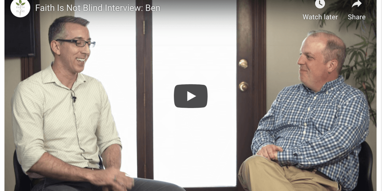 FAITH IS NOT BLIND podcast: Ben Shilaty (Mormon and Gay)