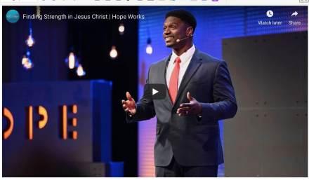 VIDEO: Yahosh Bonner — Finding Strength in Jesus Christ | Hope Works