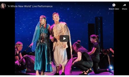 "VIDEO: Megan Grass ""A Whole New World"" live performance"
