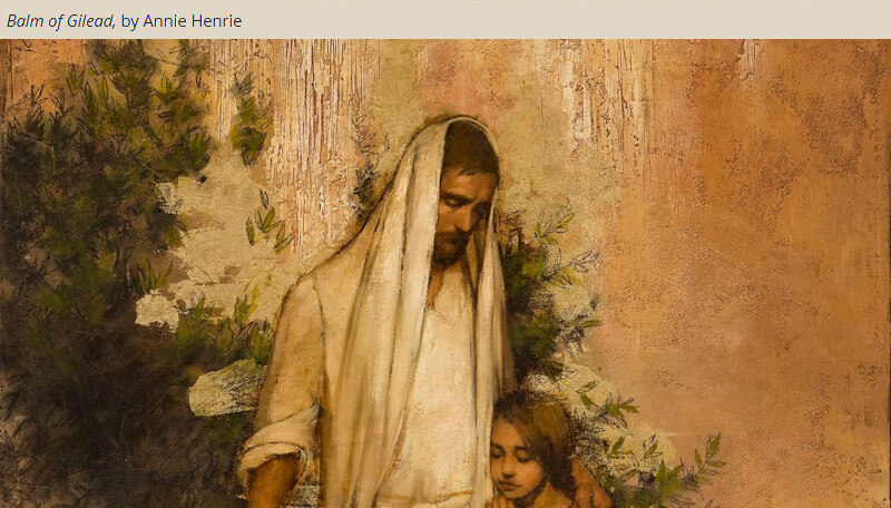 """Balm gilead christ white shawl COME, FOLLOW ME LESSON AIDS: November 4–10 Hebrews 1–6 Jesus Christ, """"the Author of Eternal Salvation"""""""