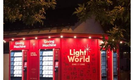 #LightTheWorld Giving Machines total nearly $6.3 million in donations for charities