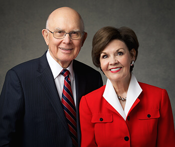 Face to Face event for youth #LDSFace2Face: President Dallin H. Oaks and his wife, Sister Kristen Oaks. Sunday, February 23, 2020.