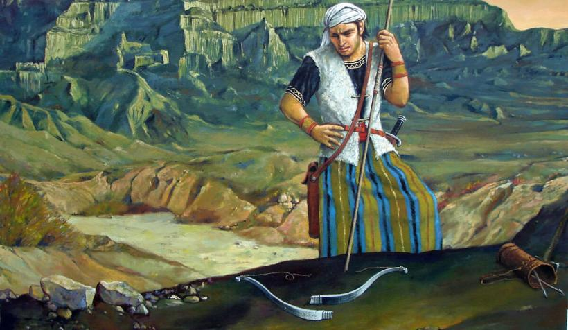 Come follow me LDS Mormon 548 steel bow jorge cocco