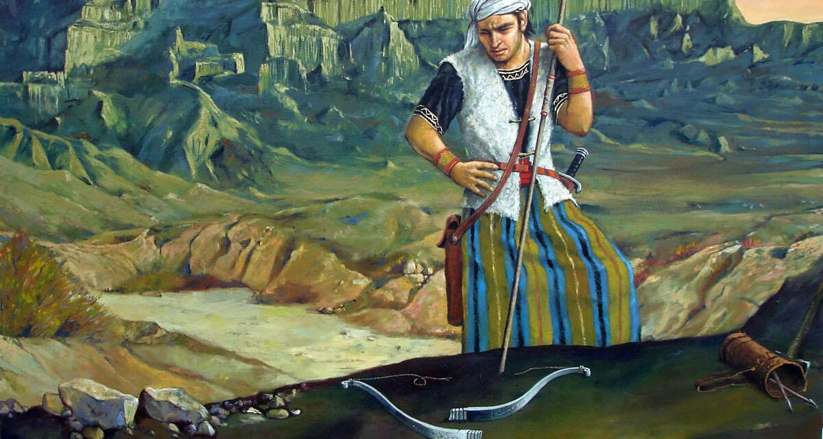 "QUESTION: Why Did Nephi's ""Fine Steel"" Bow Break? (h/t Book of Mormon Central)"