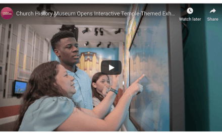 VIDEO: The Church of Jesus Christ of Latter-day Saints History Museum Opens Interactive Temple-Themed Exhibit