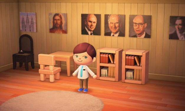 Nintendo Switch: Who says you can't have a Gospel-centered home in Animal Crossing? 😉