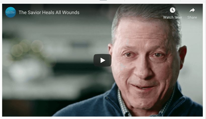 The Savior Heals All Wounds video LDS Mormon