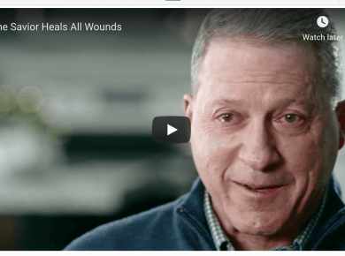 The Savior Heals All Wounds video LDS Mormon