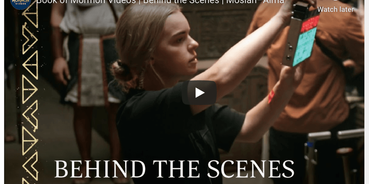 VIDEO: Book of Mormon Videos | Behind the Scenes | Mosiah–Alma