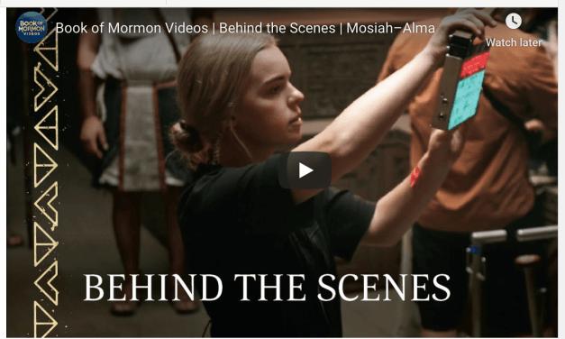 VIDEO: Book of Mormon Videos | Behind the Scenes | Mosiah–Alma