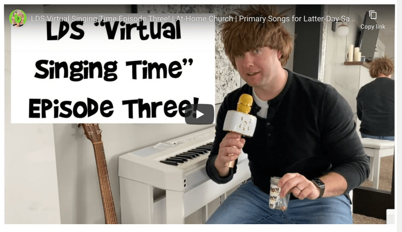 LDS Virtual Singing Time Episode Three! | At-Home Church | Primary Songs for Latter-Day Saint Kids Video Singing Covid Corona