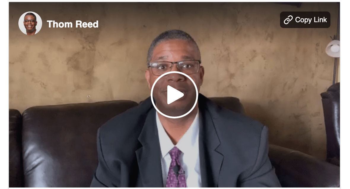 VIDEO: Bishop Thom Reed shares his testimony