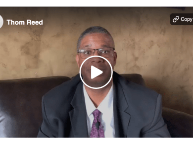 Bishop Thom Reed shares his testimony LDS Mormon