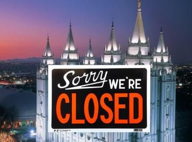 All Latter-day Saint temples will close tonight due to coronavirus pandemic Covid19 #Mormon #LDS