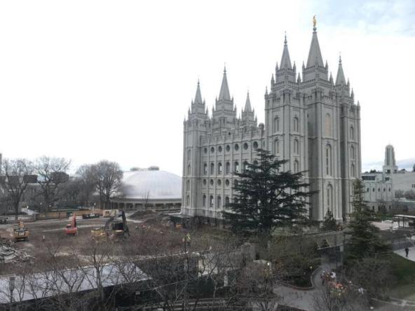 Salt lake temple earthquake