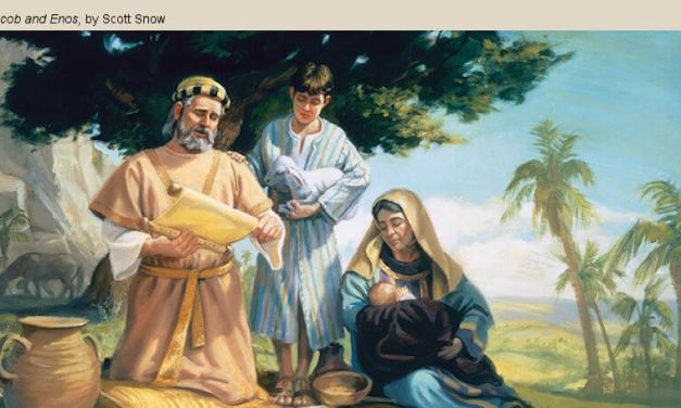 COME, FOLLOW ME LESSON AIDS: March 23–29 He Works in Me to Do His Will Enos–Words of Mormon