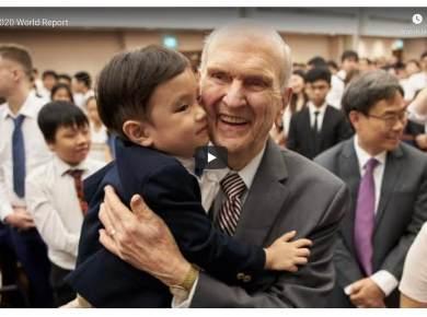 VIDEO: April 2020 World Report LDS Mormon Covid Coronavirus