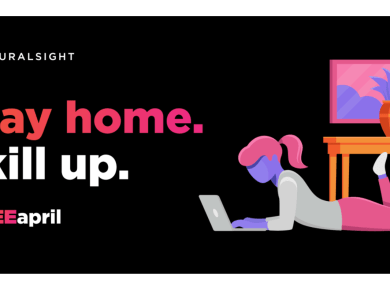 Pluralsight #FreeApril Stay Home and Skill Up for Free