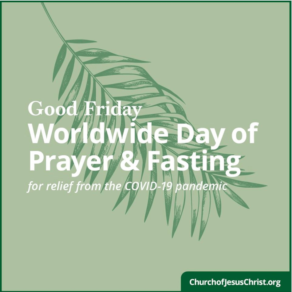 President Nelson calls for a Good Friday Worldwide Day of Prayer ...