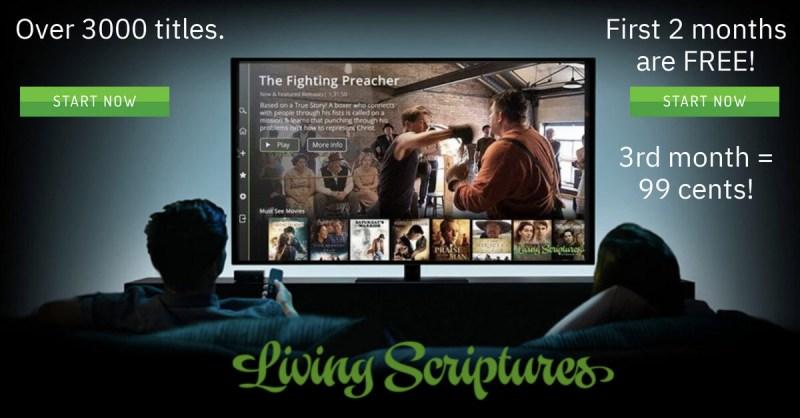 Living Scriptures ad