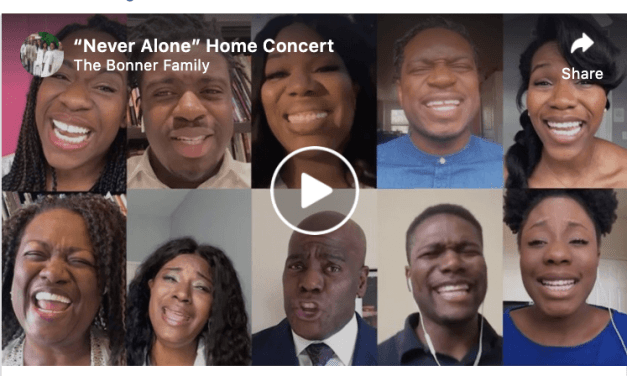 """VIDEO: The Bonner Family performs """"Never Alone"""""""