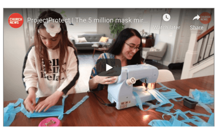 VIDEO: ProjectProtect   The 5 million mask miracle