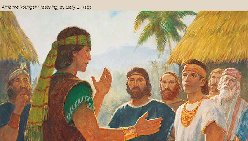 """COME, FOLLOW ME LESSON AIDS: Book of Mormon Lesson 21: May 25–31 """"They Were Steadfast and Immovable"""" Mosiah 29-Alma 4"""