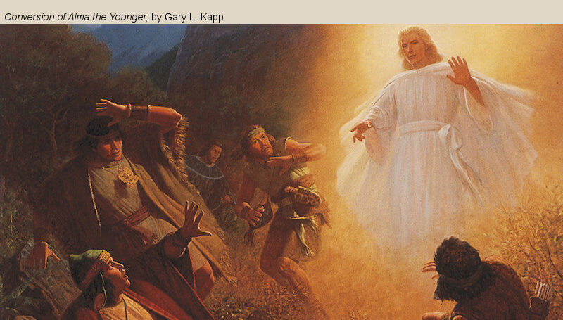 """COME, FOLLOW ME LESSON AIDS: Book of Mormon Lesson 20: May 18–24 """"They Were Called the People of God"""" Mosiah 25-28"""
