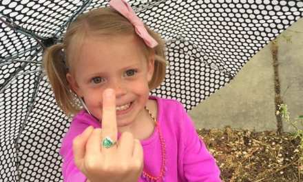 "😂 ""A Child's Innocence,"" or, ""I would like to thank my middle finger for always sticking up for me when I needed it"" 🤣"