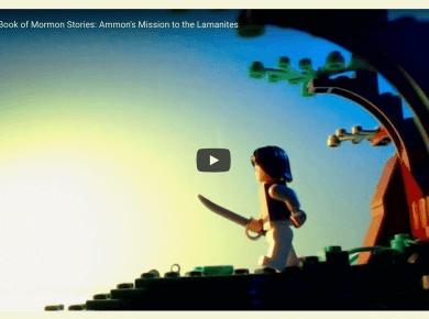 Video: #ComeFollowMe Lego Book of Mormon Stories: Ammon's Mission to the Lamanites Alma 17-22