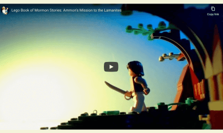 Video: #ComeFollowMe Lego Book of Mormon Stories: Ammon's Mission to the Lamanites Alma 17-22