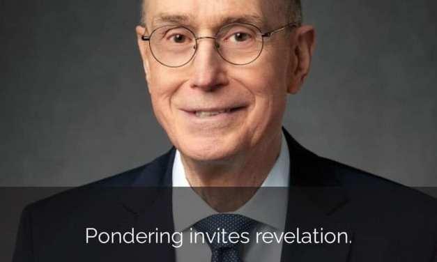 ** #ComeFollowMenugget **  Pondering invites revelation  (Helaman 6-12)