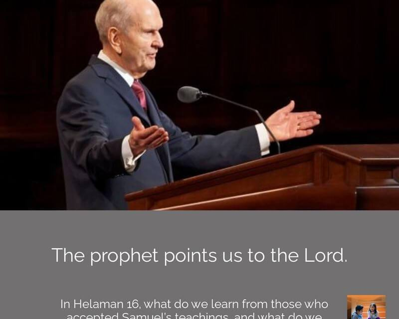 #ComeFollowMenugget —  We rejoice to have a prophet!