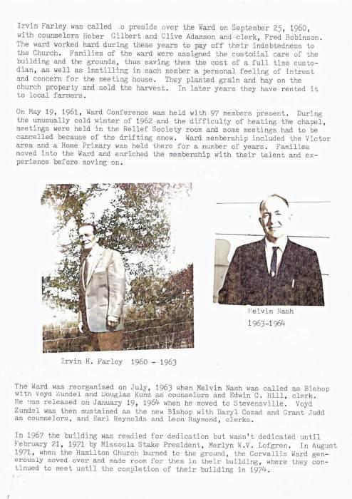 Corvallis ward history 4 ce