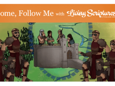 """VIDEO: Living Scriptures Come, Follow Me — Study and Teaching Helps Lesson 36, September 7-13 3 Nephi 1-7 — """"Lift Up Your Head and Be of Good Cheer"""""""