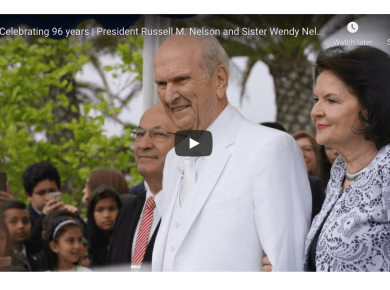 Celebrating 96 years | President Russell M. Nelson and Sister Wendy Nelson