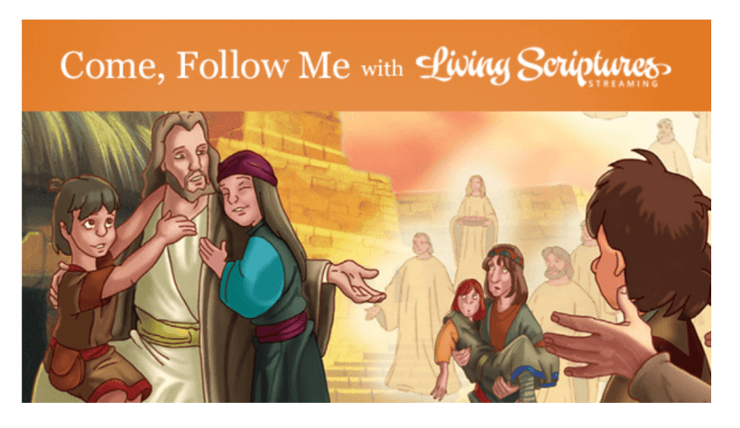 """VIDEO: Come, Follow Me Living Scriptures Book of Mormon: September 28–October 11 """"Behold, My Joy Is Full"""" 3 Nephi 17-19"""