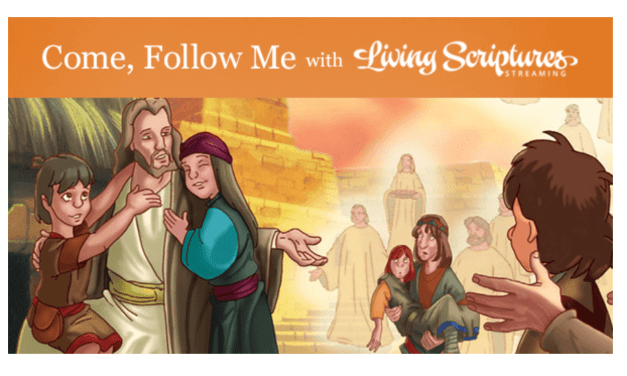 "VIDEO: Come, Follow Me Living Scriptures Book of Mormon: September 28–October 11 ""Behold, My Joy Is Full"" 3 Nephi 17-19"